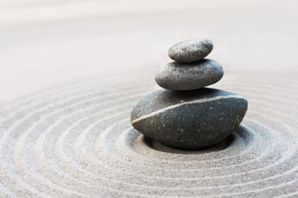 Tre pietre zen