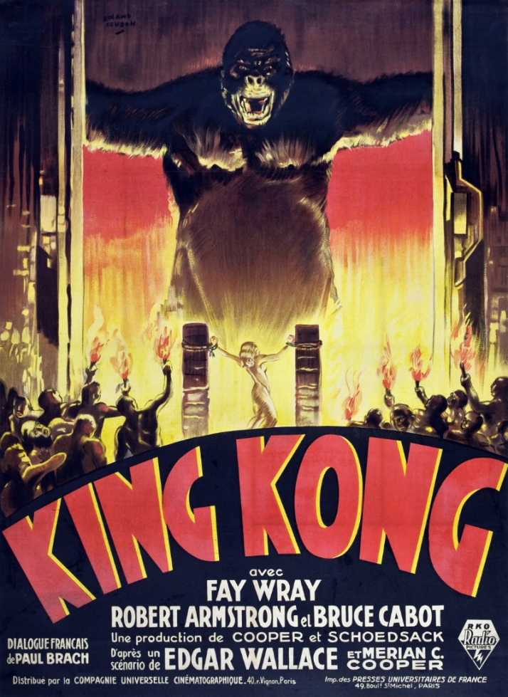 http://commons.wikimedia.org/wiki/File:King_Kong_1933_French_poster.jpg